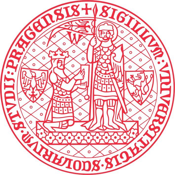 Logo Univerzita Karlova.